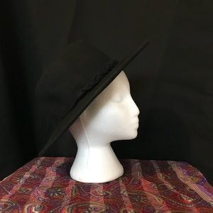 Accessories - Witchy Black firm wide brim hat 32faccd20a5